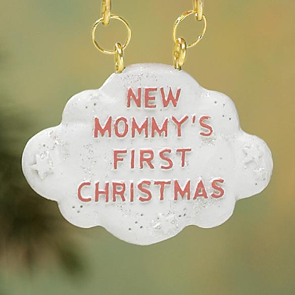 Mommy's First Christmas Ornament - View 3