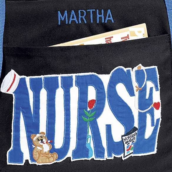 Personalized Nurse Tote Bag - View 2