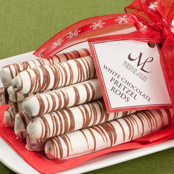 White Chocolate Pretzel Rods - View 2