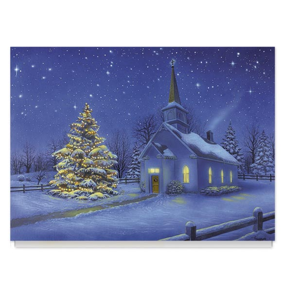 Country Church Card Set