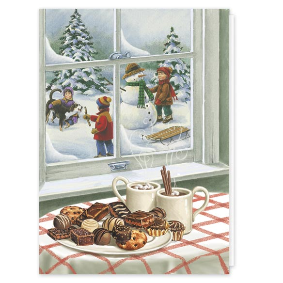 Sweet Greetings Christmas Card Set/20 - View 2