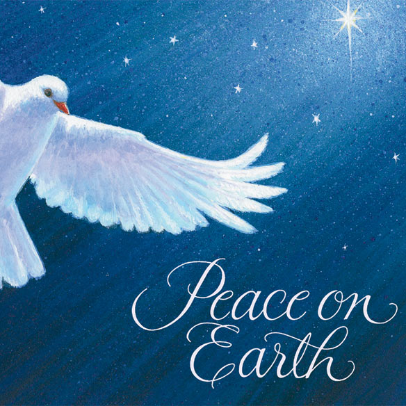 Dove of Peace Card Pers Set of 20 - View 4