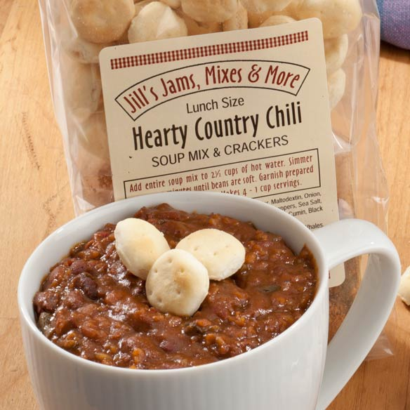 Luncheon Hearty Chili Mix & Crackers - View 2