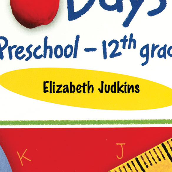 Personalized School Days Book - View 2