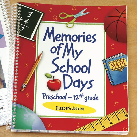 Personalized School Days Book - View 3