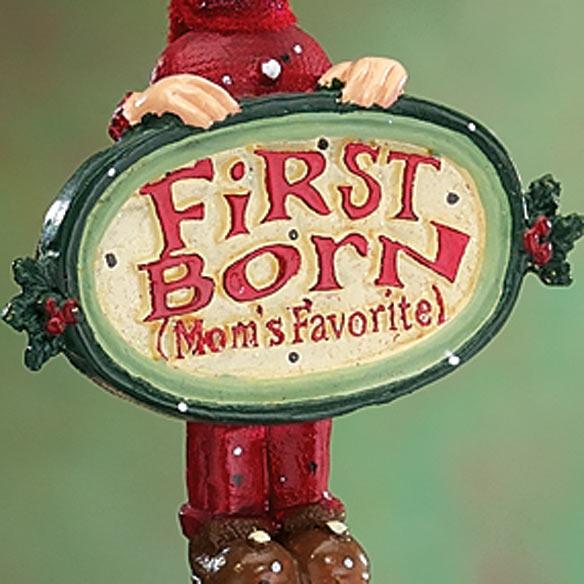 Mom's Favorite Child Ornament - View 2