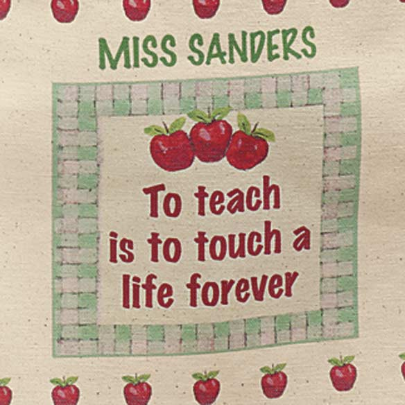 Personalized Teacher Tote - View 2