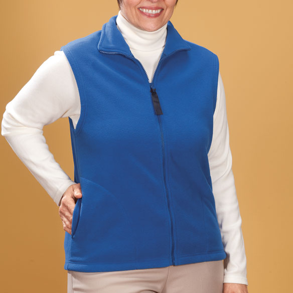 Micro Fleece Vest - View 5