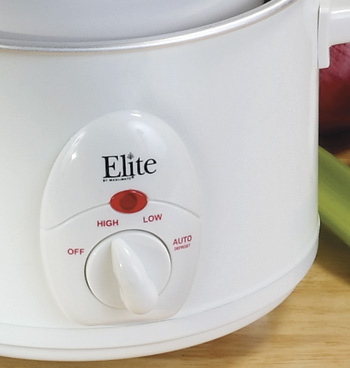 Elite 1.5 Quart Mini Slow Cooker