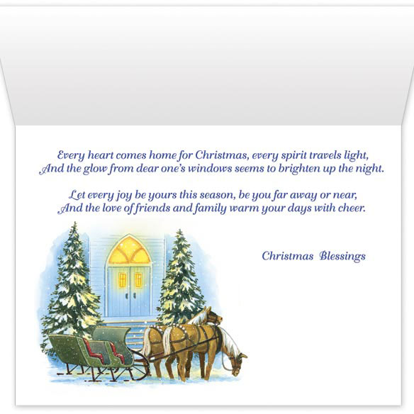 Home For Christmas Card Set - View 3