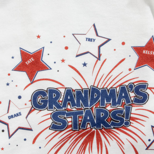 Personalized Grandma Shirt - View 2