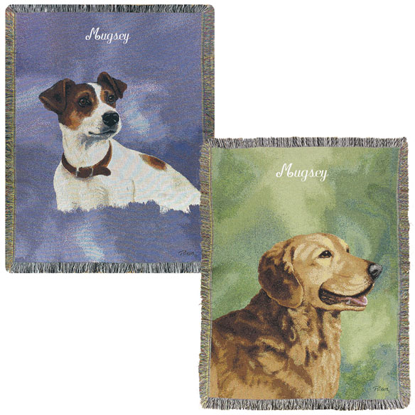 Personalized Dog Afghan - View 5