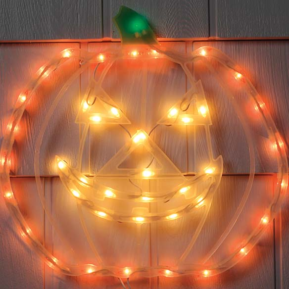 Lighted Pumpkin - View 2