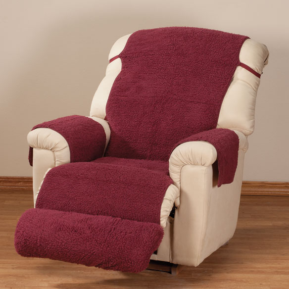 Sherpa Recliner Cover by OakRidge Comforts™ - View 3