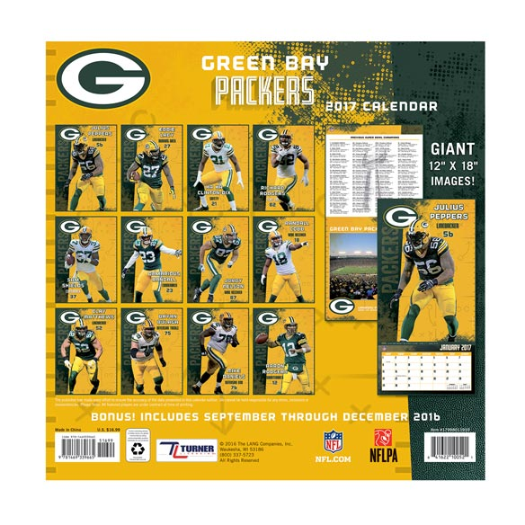 NFL Wall Calendar - View 2