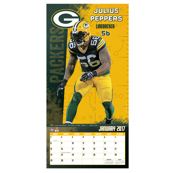 NFL Wall Calendar - View 3