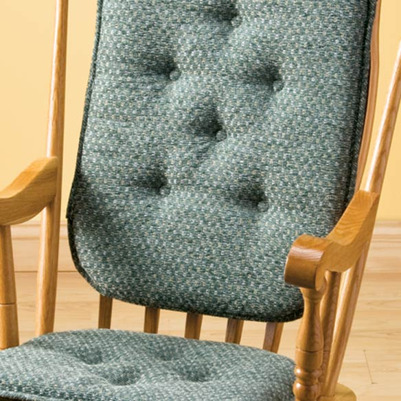 Raindrops High Back Rocking Chair Cushions