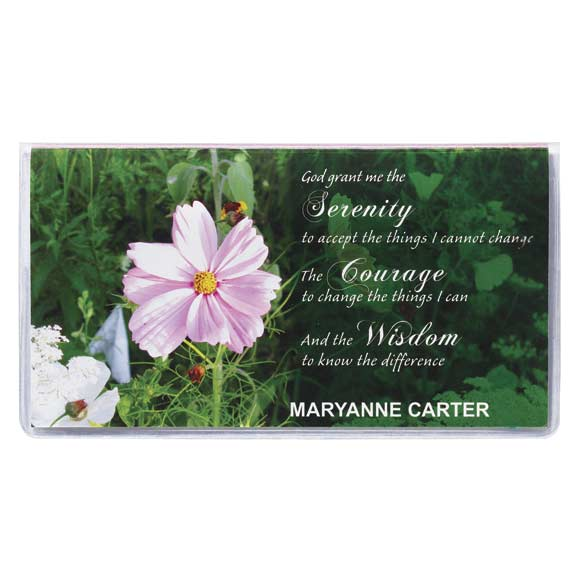 Serenity Prayer 2 Year Pocket Calendar - View 5