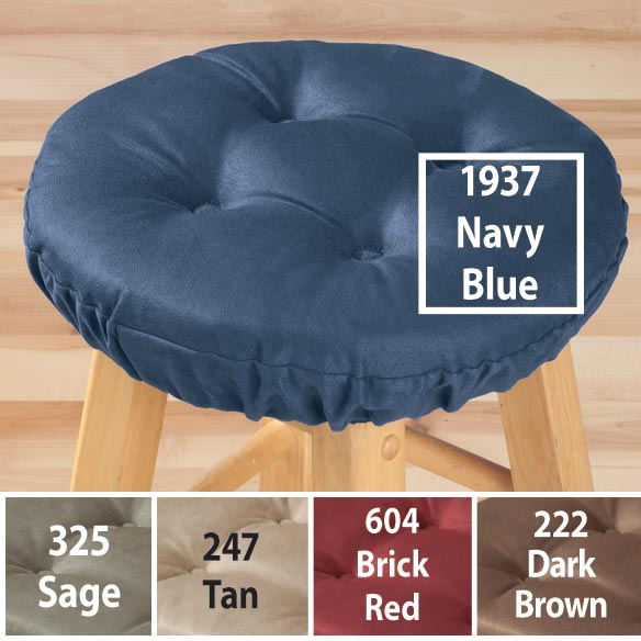 Sensation Microfiber Bar Stool Cushion - View 2