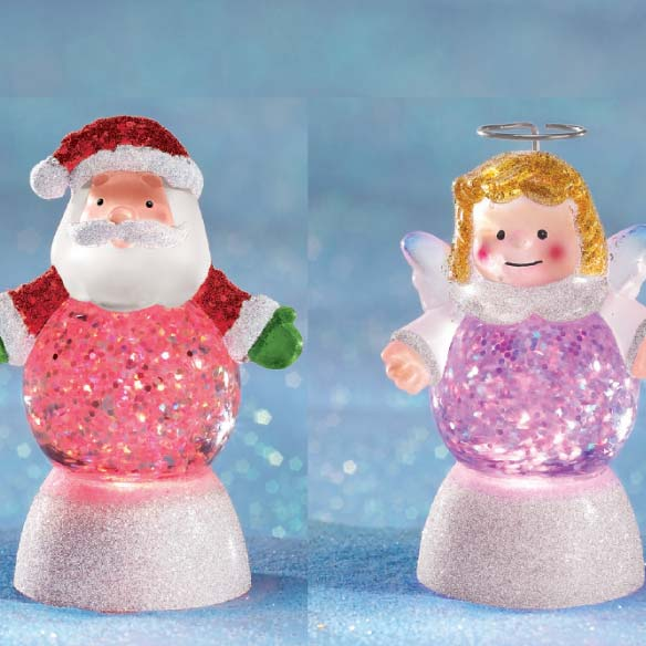 Glitter Buddies Mini Snow Globes
