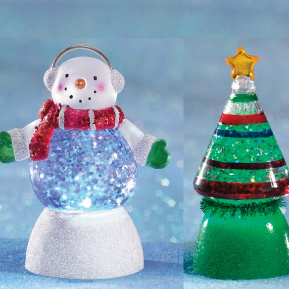 Glitter Buddy Mini Snow Globe - View 4