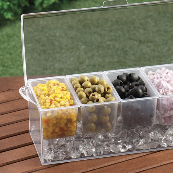 Chilled Condiment Caddy
