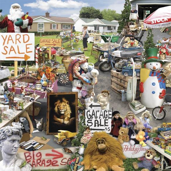 Yard Sale 1000 Piece Puzzle - View 2