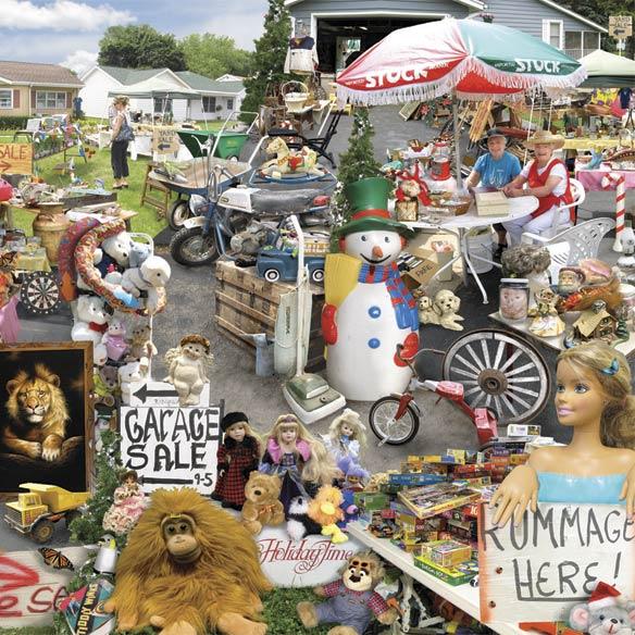 Yard Sale 1000 Piece Puzzle - View 3