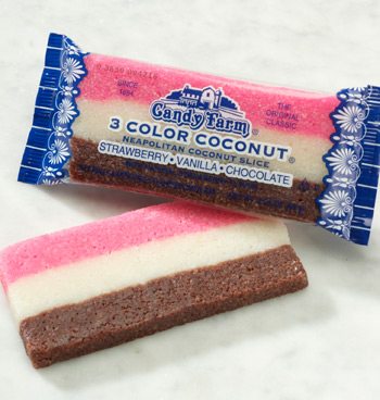 Neapolitan Coconut Rainbow Bars 2 Pack - View 2