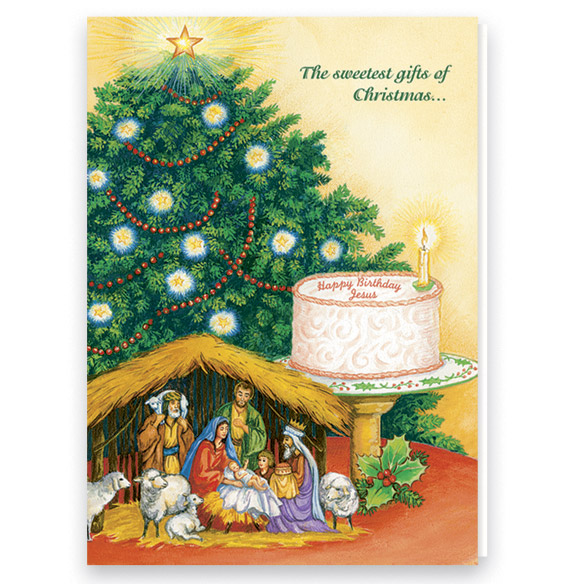 Personalized Recipes Of Christmas Card Set - View 2