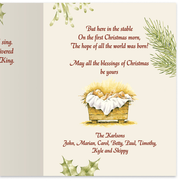 Christmas Certificate Card Set/20 - View 4