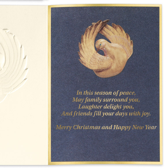 Dove Peace Unpersonalized Card Set