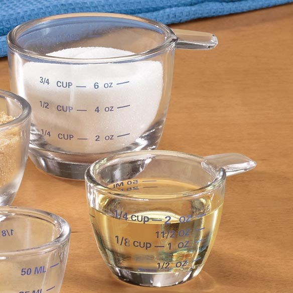 Glass Measuring Cup Set - View 2