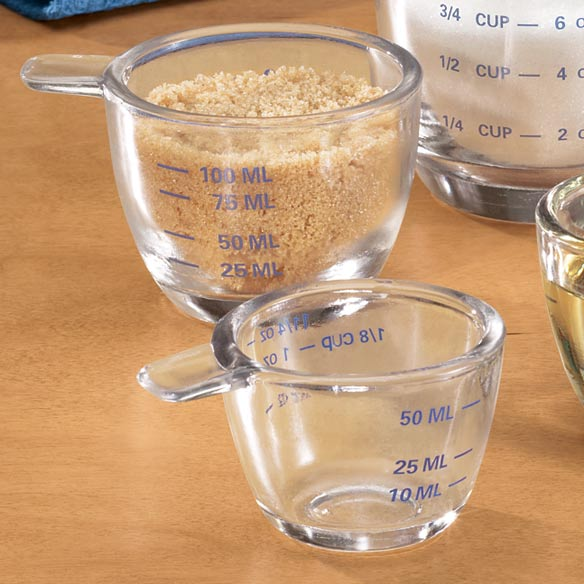 Glass Measuring Cup Set