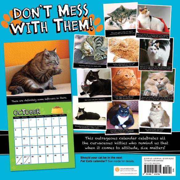 Fat Cats Calendar - View 2