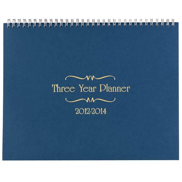 3 Year Calendar 2012-2014 - View 2