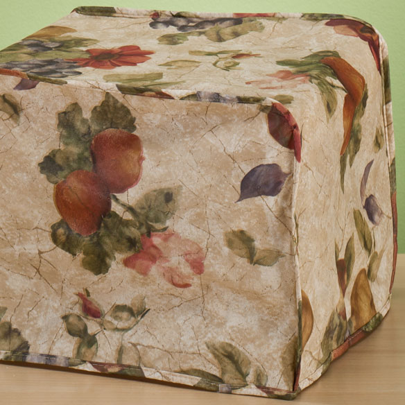 Antique Fruit Vinyl Appliance Cover 4 Slice Toaster - View 2