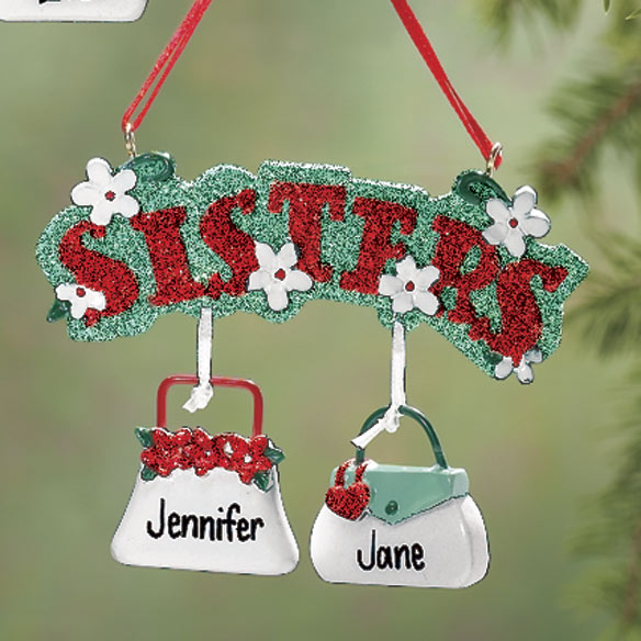 Sisters Purse Ornaments