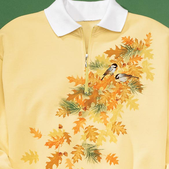 Falling Leaves Sweatshirt XXL - XXXL - View 2