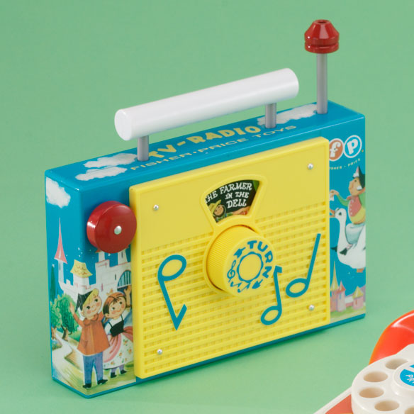 Fisher Price Retro TV Radio and Telephone