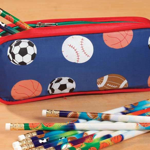Personalized Sports Pencil Case - View 2