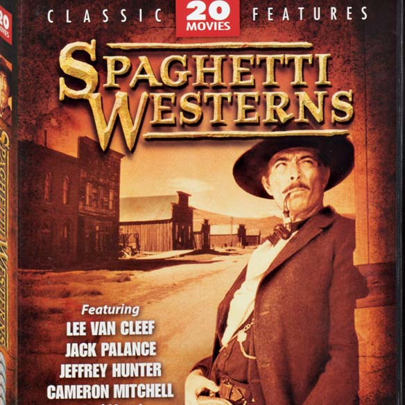 Spaghetti Westerns 20 Movie DVD Set - View 2