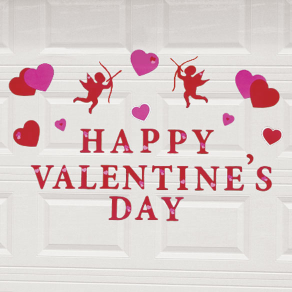 Valentine's Day Garage Door Magnet Set - View 2