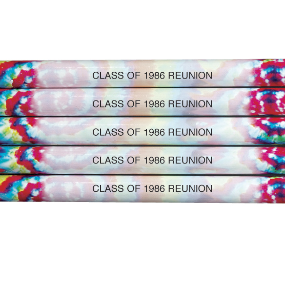 Tie Dye Pencils - Set of 12 - View 2