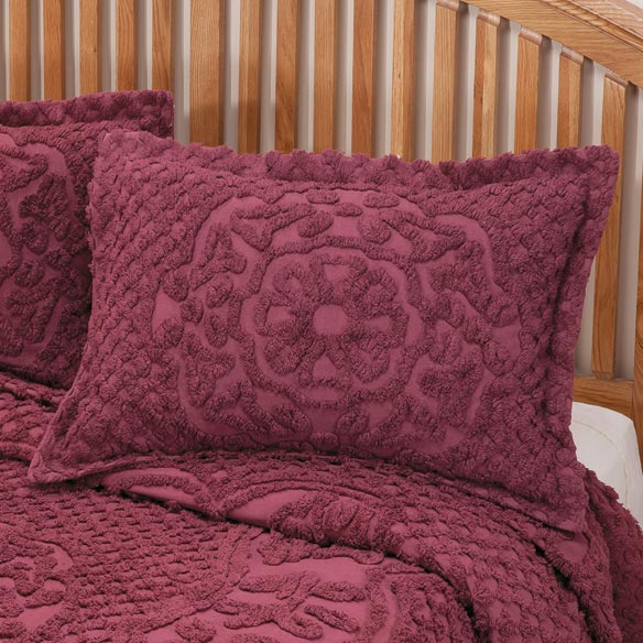 The Martha Chenille Bedspread Sham - View 3