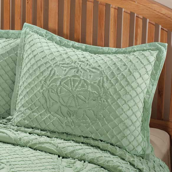 The Martha Chenille Bedspread Sham - View 4
