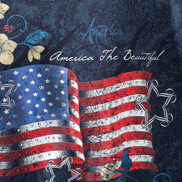 America the Beautiful T-Shirt - View 2