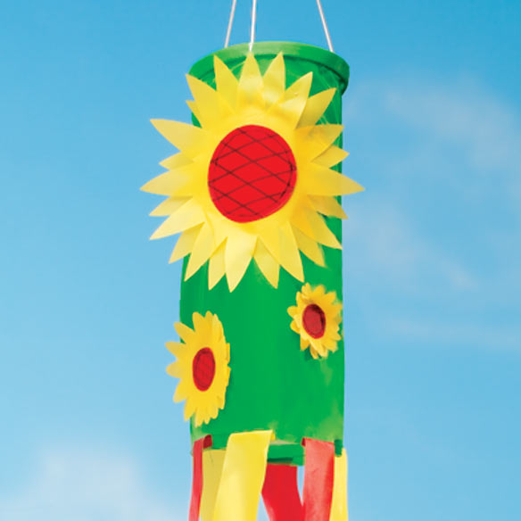 Sunflower Windsock - View 2