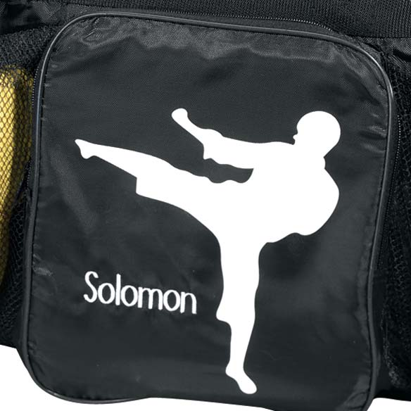 Personalized Karate Bag - View 3