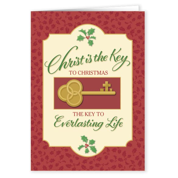 The Key to Christmas Card Set of 20 - View 2